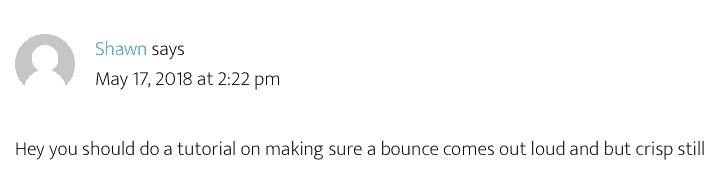 Logic Pro X Bounce Conspiracy