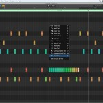 Painting in MIDI Drums with Logic's Paint Brush Tool