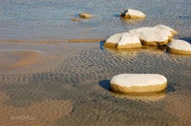Flat Stone, Fluttering Water