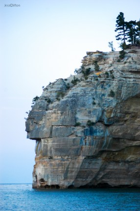 Pictured Rocks Indian Head