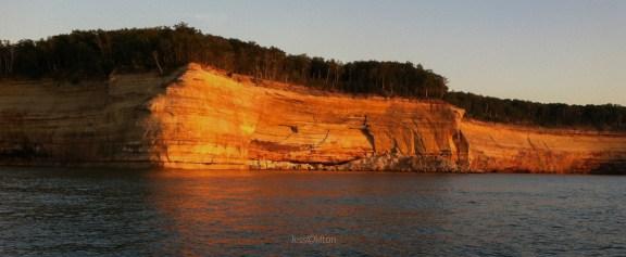 Pictured Rocks Sunset Cliffs