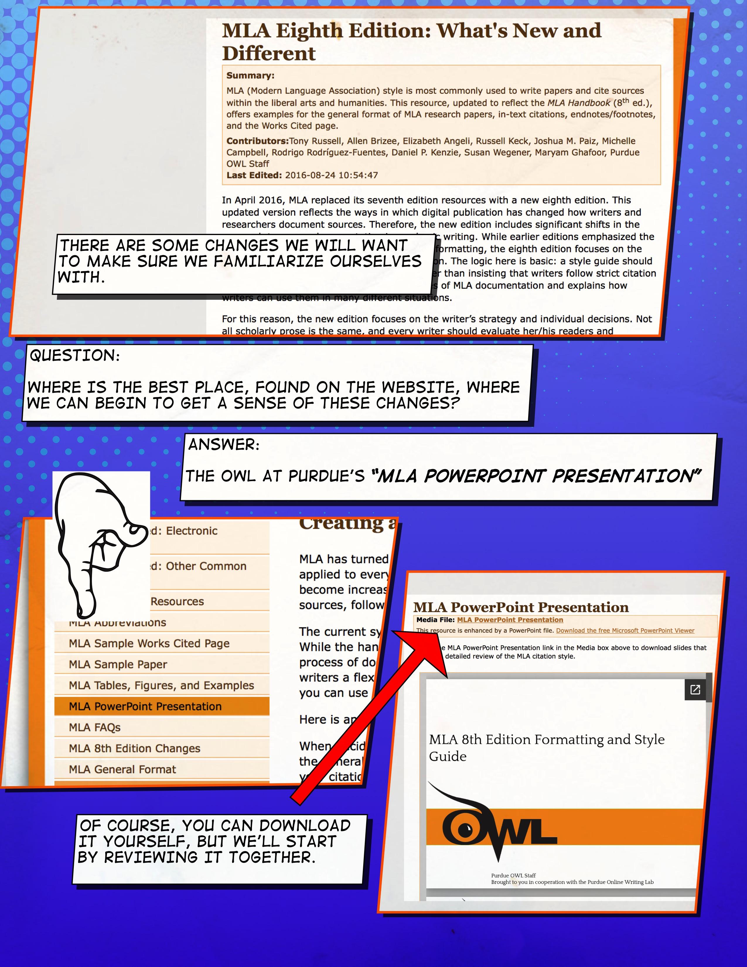 Getting Into Mla Formatting Basics Composition 1