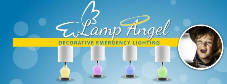"LampAngel decorative emergency lighting can be purchased online here ==/>https://relyalight.com/ or on Amazon here ==> http://amzn.to/2qqk4Nu"" width=""851″ height=""315″></p> <p><strong>Description</strong>: LampAngel, a table lamp every day, has a shatter resistant acrylic body that lights up with 16 different colors, controlled by a remote control. It also has 4 pre-set modes for a dazzling light display or simply choose your favorite color as a nightlight to lull you to sleep. The base of the lamp has a USB port that charges your electronics both with and without AC power letting you stay connected to family and friends all the time! The body of the lamp contains 20 high power LEDs that come on instantly and automatically with no human interaction required and stays lit for up to 16 hours providing security and safe mobility for you and your family.</p> <p><img class="
