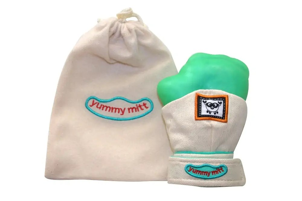 YummyMitt Teething Mitten can be purchased here: == data-recalc-dims=