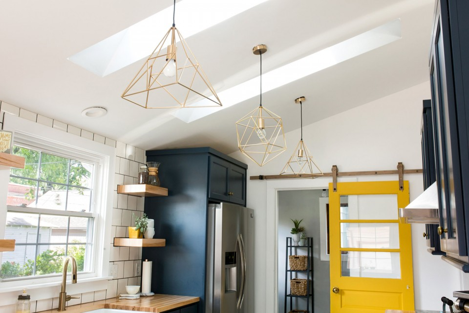 kitchen skylights best islands velux brighten small in indianapolis home