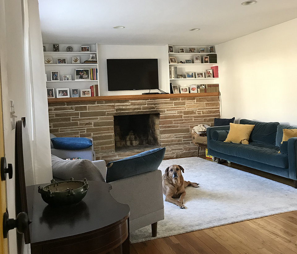 Natural Light Renovation Transformed This New Jersey Family S Living Room