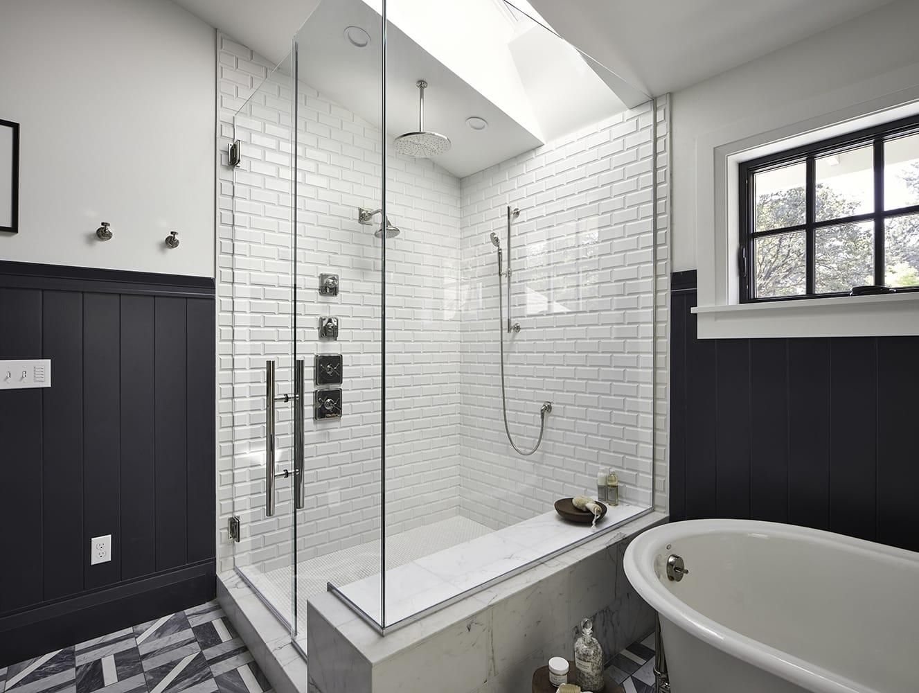 vented bathroom skylight lighting