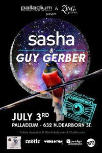 Sasha & Guy Gerber @ Palladium Nightclub 7.3.13 Wavefront Official Pre-Party
