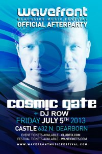 Cosmic Gate @ Palladium Nightclub 7.5.13 Wavefront Official Afterparty