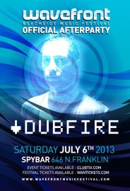 Dubfire @ Spybar Chicago 7.6.13 Wavefront Official After Party