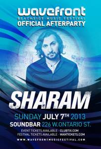 Sharam @ Sound-Bar Chicago 7.7.13 Wavefront Official After Party