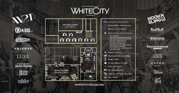 White City Chicago Map