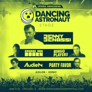 dancing astronaut stage