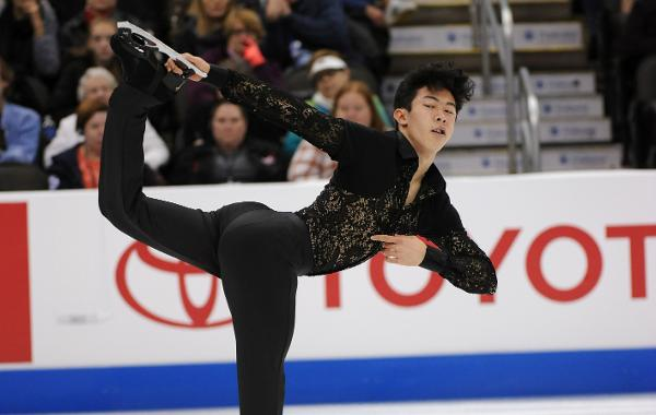Though only 17, Nathan Chen is already considered one of the top men's figure skaters in the world due to his exceptional athletic and jumping ability. -Jay Adeff