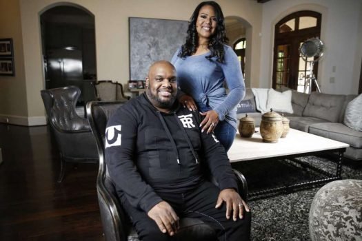 """Associate Pastor at Lakewood Church John Gray and his wife, Aventer, share laughs, tears and love on their new docuseries, """"The Book of John Gray,"""" which premiered 9 p.m. Saturday on OWN. Photo: Michael Ciaglo, Staff"""