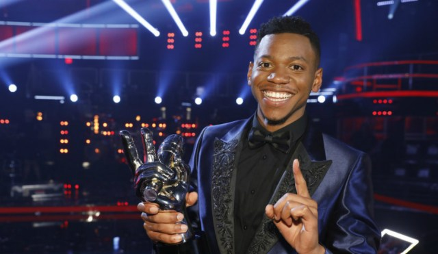 Winner of The Voice, Chris Blue, Debuts at No  1 on Hot Gospel Songs