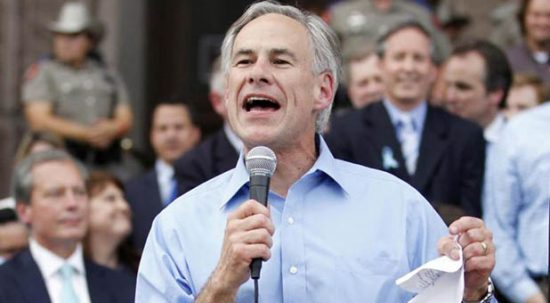 Texas Gov. Gregg Abbott will sign into law a bill Sunday that will protect pastors in his state from being persecuted for speaking out about issues of a political nature. (Reuters photo)