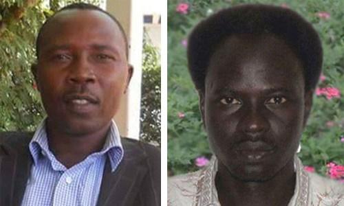 Left – Hassan Abdelrahim Tawor (Photo from Christian Solidarity Worldwide); Right – Abdulmonem Abdumawla (Christian Solidarity Worldwide)