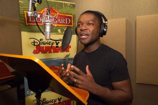 THE LION GUARD – David Oyelowo recording session. (Disney Junior/Phil McCarten)