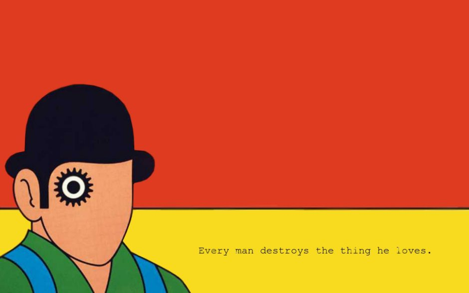 A Clockwork Orange Book Wallpaper