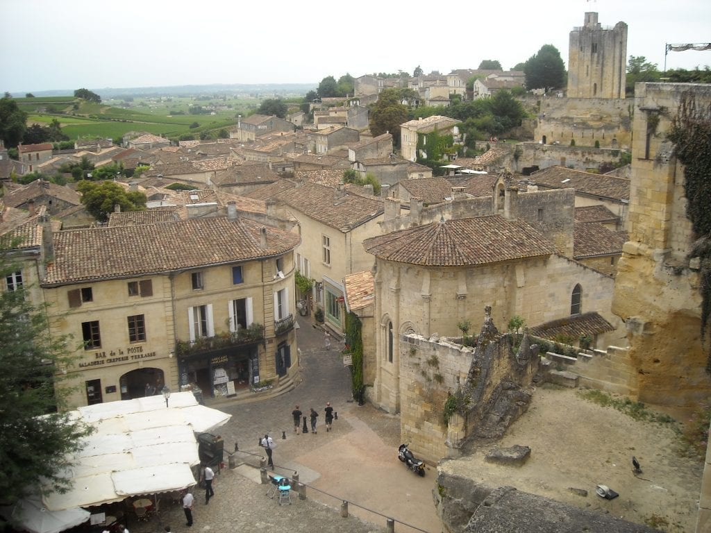 St. Emilion - A Day Trip from Bordeaux While Learning French in France