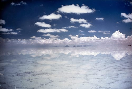 Salar de Uyuni after the rain