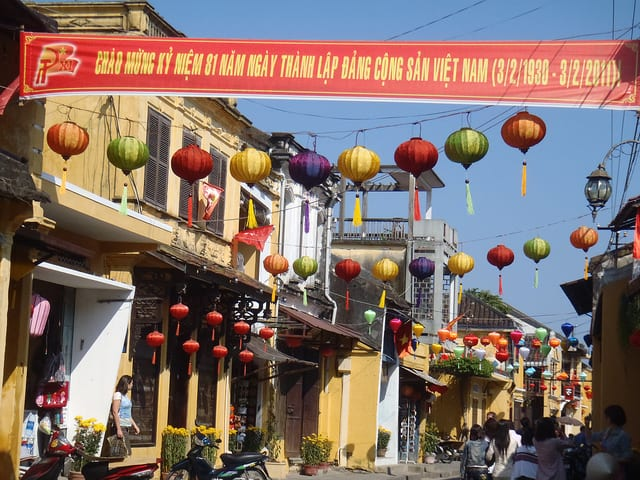 The streets of Hoi An, Vietnam - The Cutthroat Business of being a Hoi An tailor