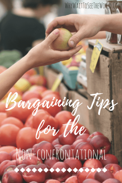 Bargaining Tips for the Non-Confrontational