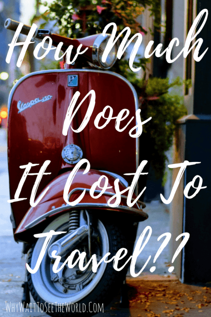 How Much Does It Cost To Travel