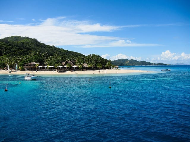 The Beach in Fiji - Should You Start a Travel Blog: The Dirty Truth