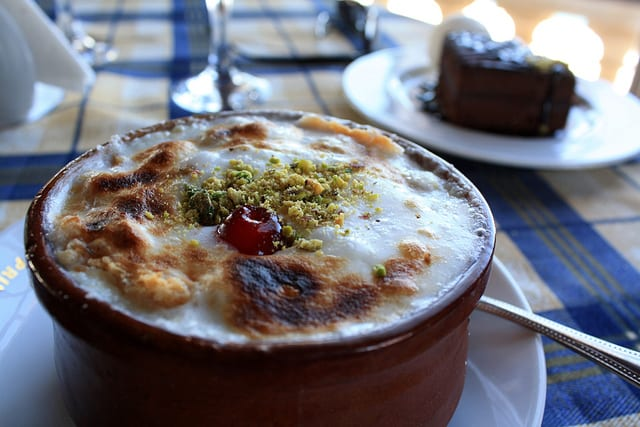 Umm Ali is a Delicious Pudding Like Arabic Sweet