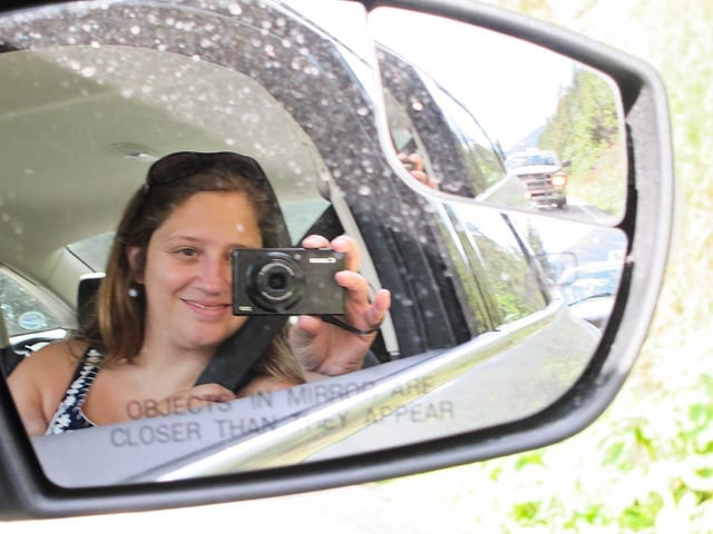 A Photo of Me in the Side Mirror - My Top Tips for Blogging Success
