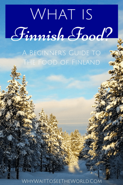 What is Finnish Food?