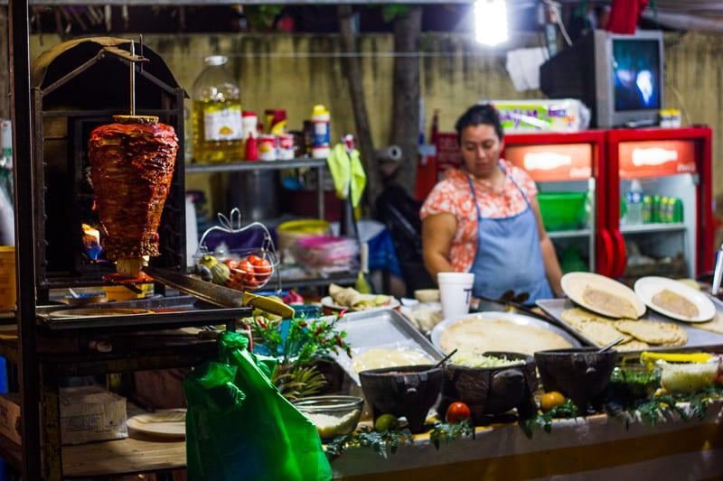 El Pastor Vendor at Sayulita Days Carnival