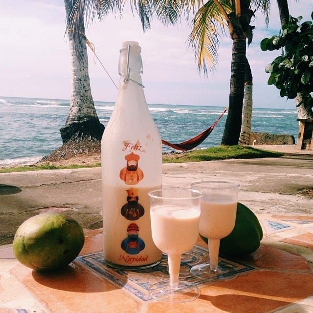 Christmas Liquor on the Beach - How to Travel and Work Full Time