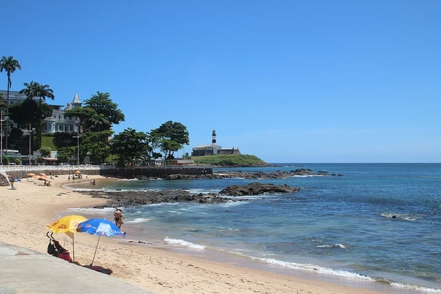 The Beach in Salvador, Brazil - Carnaval in Brazil: Which City is For You?