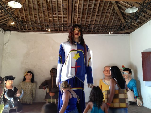 Giant Puppets for Carnaval in Brazil