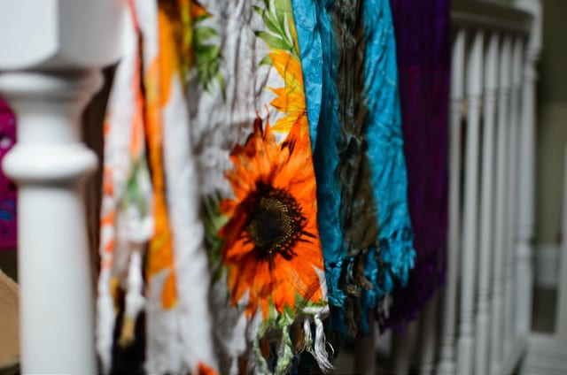 It is always worth picking up a multipurpose sarong - one of our 6 essential travel items