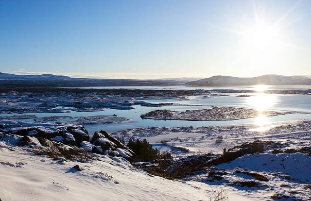Overlooking Iceland - Travel During First Trimester of Pregnancy is Totally Doable