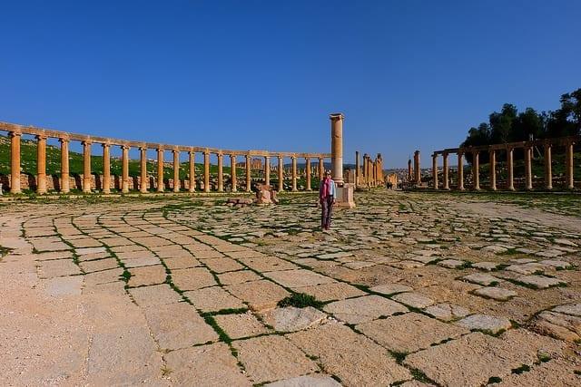 The Empty Ruins of Jerash - How Safe is Jordan
