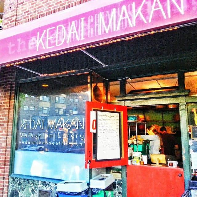 Best Cheap Eat in Capitol Hill, Seattle: Kedai Makan