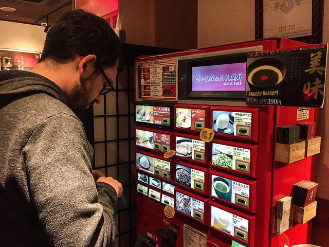 Vending Machine Ramen is a Great Way to Eat in Japan on a Budget