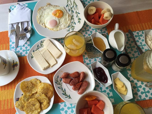 A Breakfast Spread in Cartagena, Colombia - Things to Do in Cartagena