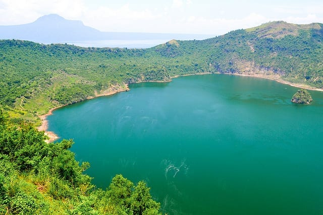 The Sulfur Lake at Taal Volcano in the Philippines - Should You Visit Manila?