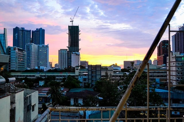 The Skyline of Manila at Dusk - Should You Visit Manila