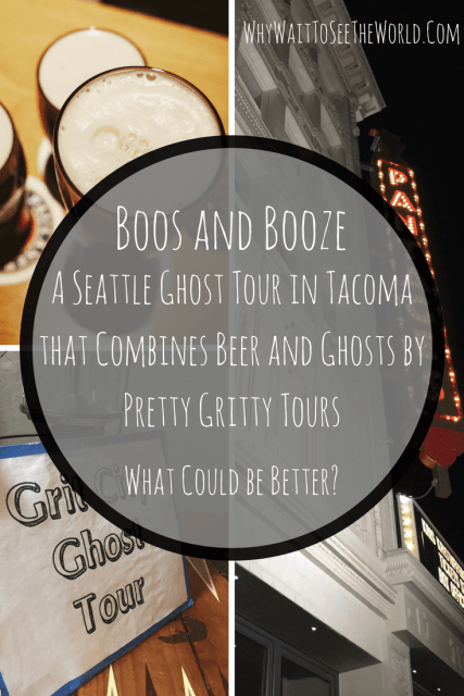Boos and Booze - A Seattle Ghost Tour By Pretty Gritty Tours