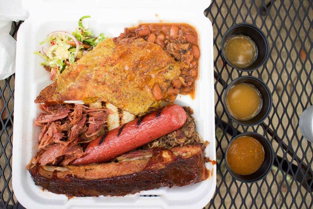 The GUK Sampler platter at Gilbert's Underground Kitchen - A Guide to Amelia Island Restaurants