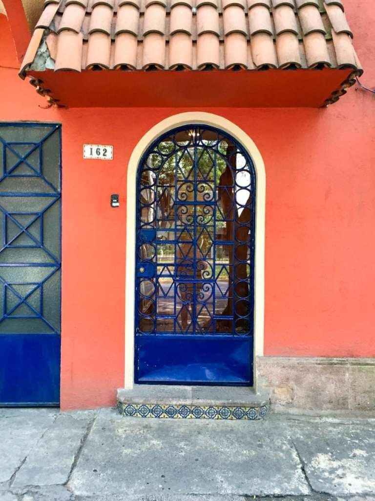 Door in Mexico City