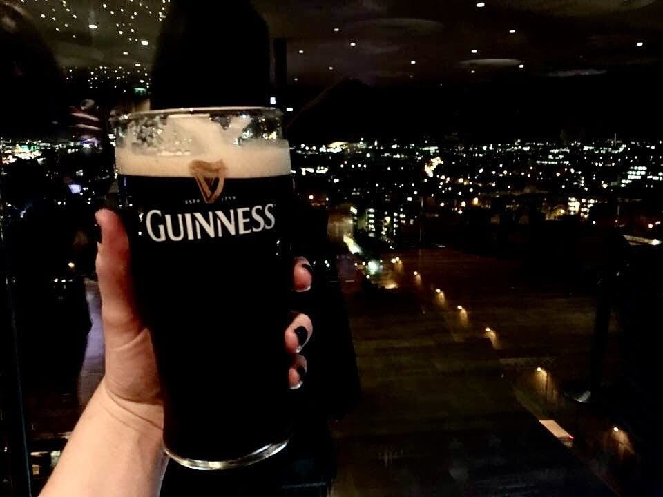 Take Your Guinness with a View - Where to Eat in Dublin