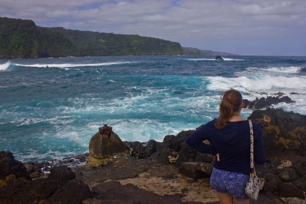 A Girl in Front of Stormy Seas - Why An IUD is the Best Birth Control for Travelers